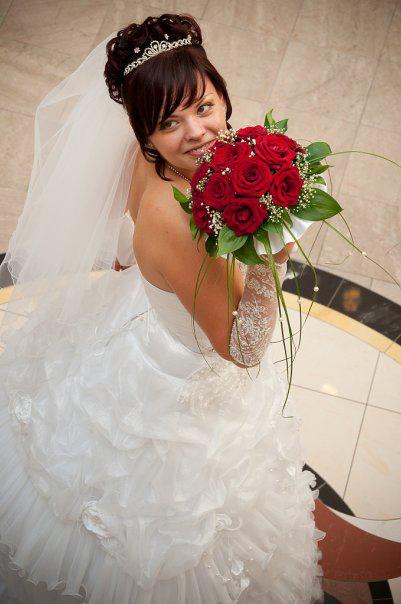 Свадебная прическа от свадебного